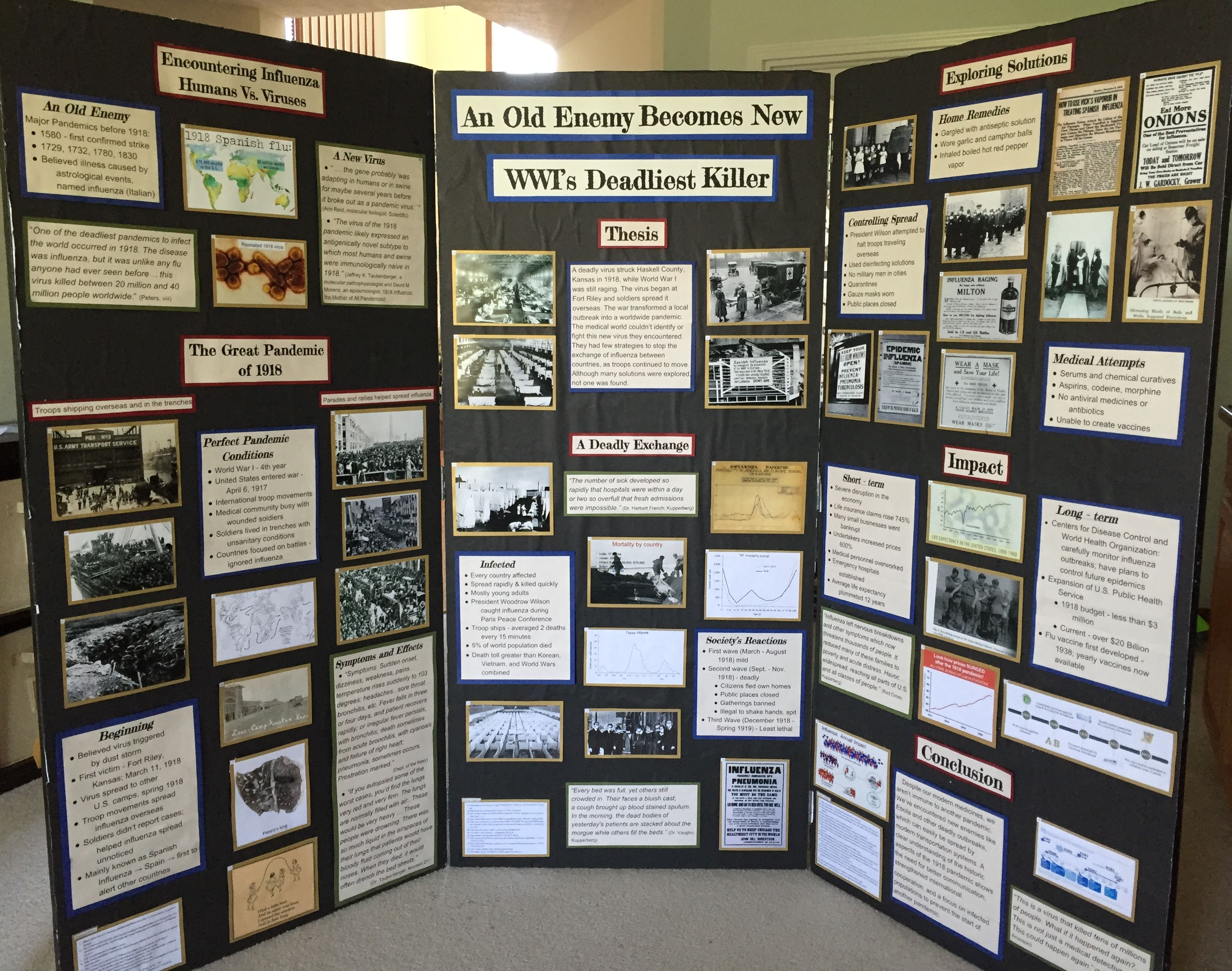 National history day exhibit board examples of thesis