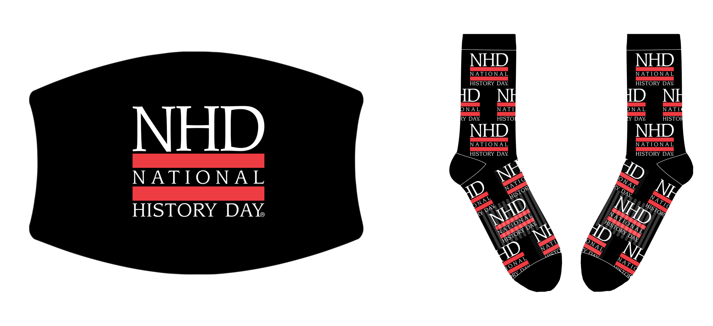 NHD Logo Face Mask and Socks