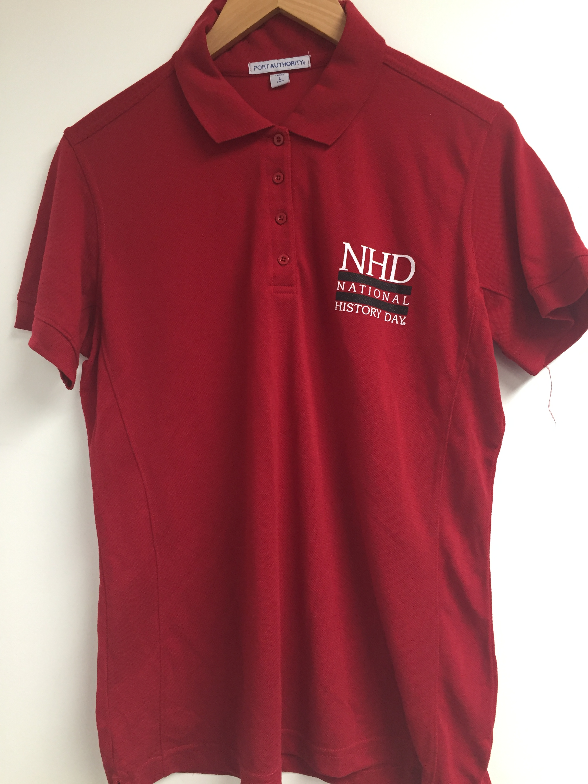 804079533ec Red Polo Shirt Without Collar